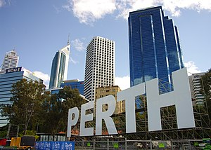 Perth Agreement - Signage for events related to the Commonwealth Heads of Government Meeting in Perth, Western Australia