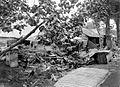 COLLECTIE TROPENMUSEUM Een door de modderstroom verwoest dorp als gevolg van de eruptie van de Keloed TMnr 10004014.jpg