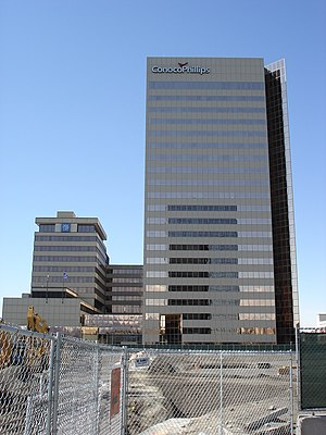 The Conoco-Phillips building, the tallest buil...