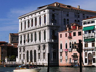 Army and Navy Club - The Palazzo Corner, Venice, which inspired the design of the first club-house's exterior