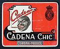 Cadena Chic, Corona-Model blik, foto 1.JPG