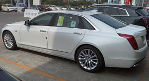 Cadillac CT6 - Cadillac CT6 rear quarter view