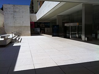 Art museum in Av. de Francesc Ferrer i Guàrdia, Barcelona