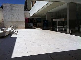 CaixaForum Barcelona - Entrance to the museum designed by Arata Isozaki