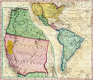Josefa Segovia - Map of California during the Gold Rush