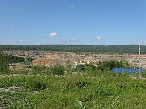 Calcareous - Calcareous mine in Perm Krai, Russia
