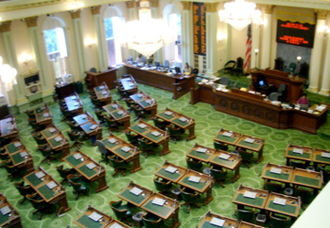 California State Assembly - Image: California Assembly chamber
