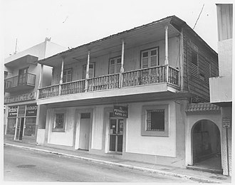 National Register of Historic Places listings in northern Puerto Rico - Image: Calle Gonzalo Marin No. 61