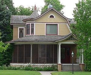 National Register of Historic Places listings in Dawson County, Nebraska - Image: Calling House (Gothenburg, Nebraska) from E