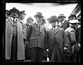 Calvin Coolidge and ?) of Connecticut, reviewing the (...) of the Governor's foot guards, said to be the only organization of its kind in the country LCCN2016893469.jpg