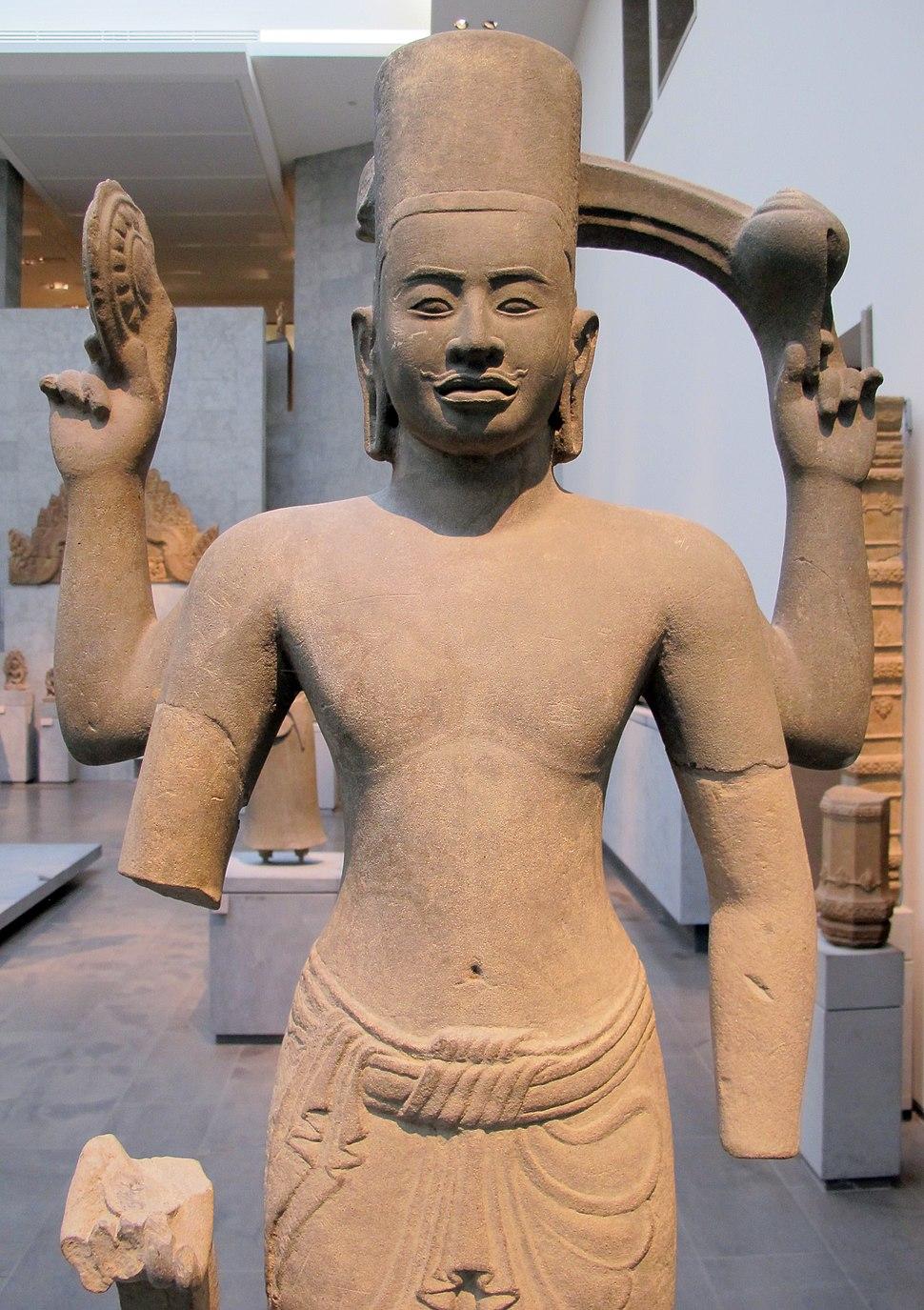 Cambogia, visnu, dintorni di prasat rup arak, stile din kulen, 800-875 ca. 02