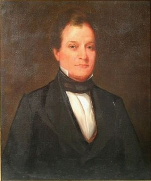 William B. Campbell - Portrait of Campbell by Washington B. Cooper