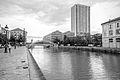 Canal Saint-Martin, Pont levant de la rue de Crimée à Paris.jpg