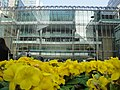 Canary Wharf Reebok Sports Club from Canada Square Park 2.JPG