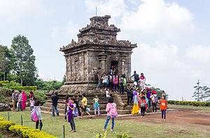 Gedong Songo - Temple I at Gedong Songo