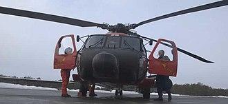 Coast Guard Air Station Cape Cod - A HH-60 at CGAS Cape Cod