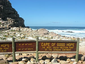 English: Cape of good hope. This photo has bee...