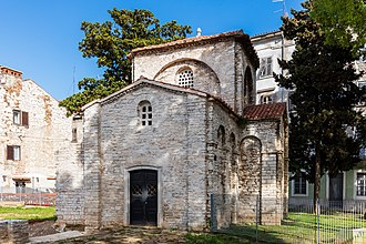 Pula - Chapel of St. Mary Formosa