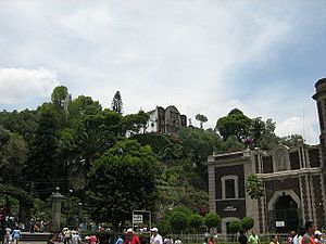 Tepeyac - A view of Tepeyac Hill