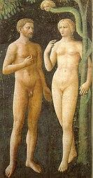 Masolino da Panicale: Temptation of Adam and Eve