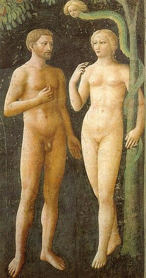Temptation of Adam and Eve