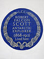 Captain Robert Falcon Scott 1868-1912 Antarctic Explorer lived here.jpg