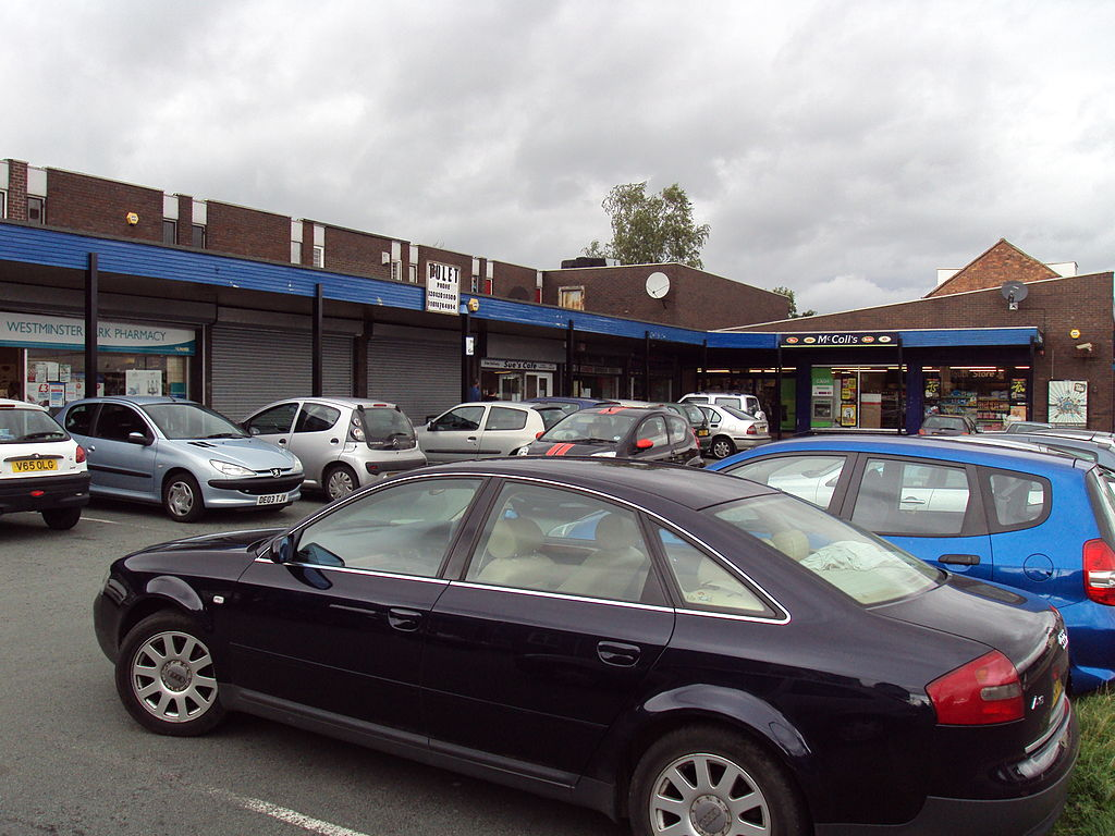 Chester Car Park Train Station