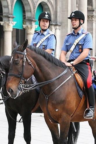 Law enforcement in Italy - Carabinieri.