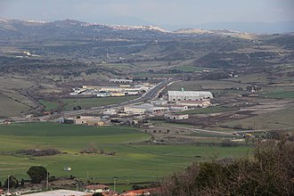 Cargeghe - Image: Cargeghe Zona industriale (01)