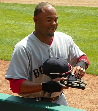Carl Crawford - Crawford during his tenure with the Boston Red Sox in 2011