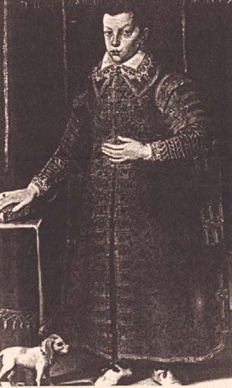 Carlo de' Medici (cardinal) - Carlo as a boy.