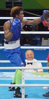 Carlos Andrés Mina Ecuadorian boxer