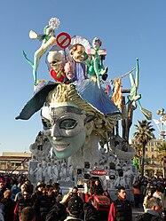 Carro allegorico del Carnevale di Viareggio