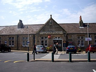 Carnforth Human settlement in England