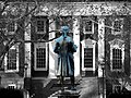 Carr's Hill behind Jefferson statue UVa color isolated.jpg
