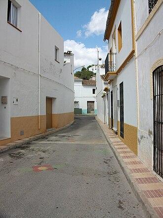 Senija - Image: Carrer de Senija, Marina Alta, País Valencià