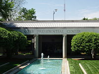 The Jimmy Carter Library and Museum during the daytime.