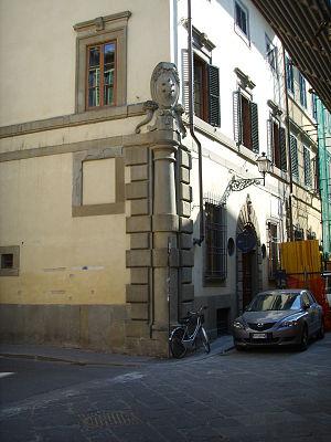 Andrea del Sarto - The house of Andrea del Sarto.