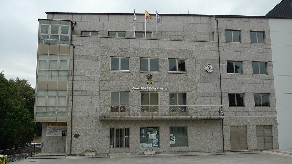 Casa do concello Carballedo (Lugo)