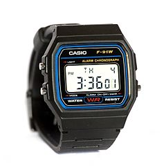 Casio F91W wristwatch