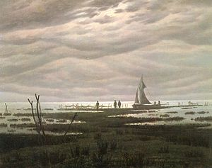 Bay of Greifswald - Image: Caspar David Friedrich 017