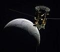 Cassini over Enceladus (36353163645).jpg