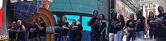 "The Broadway League - Cast of Rent performing ""Seasons of Love"" at Broadway on Broadway, 2005"