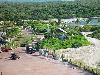 Castaway Cay - Image: Castaway Cay dock