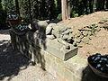 Castello di vincigliata, leone in pietra.JPG