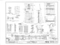 Castillo de San Marcos, 1 Castillo Drive, Saint Augustine, St. Johns County, FL HABS FLA,55-SAUG,1- (sheet 9 of 9).png