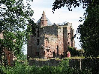 Brederode Castle - Image: Castle Brederode 1