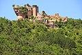 Castle Peyrelade high on the rock above the Tarn valley - panoramio.jpg