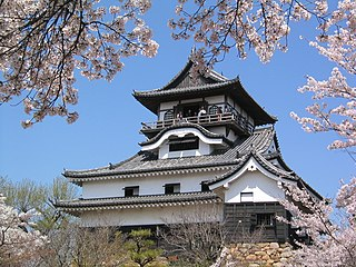 one of the 12 Japanese castles still in existence which were built before the Edo period