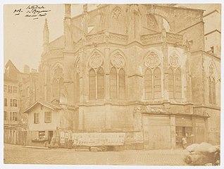 Photographie du chevet de la cathédrale de Bayonne